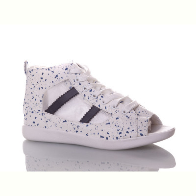Кеды Viktoria CF017 white-blue